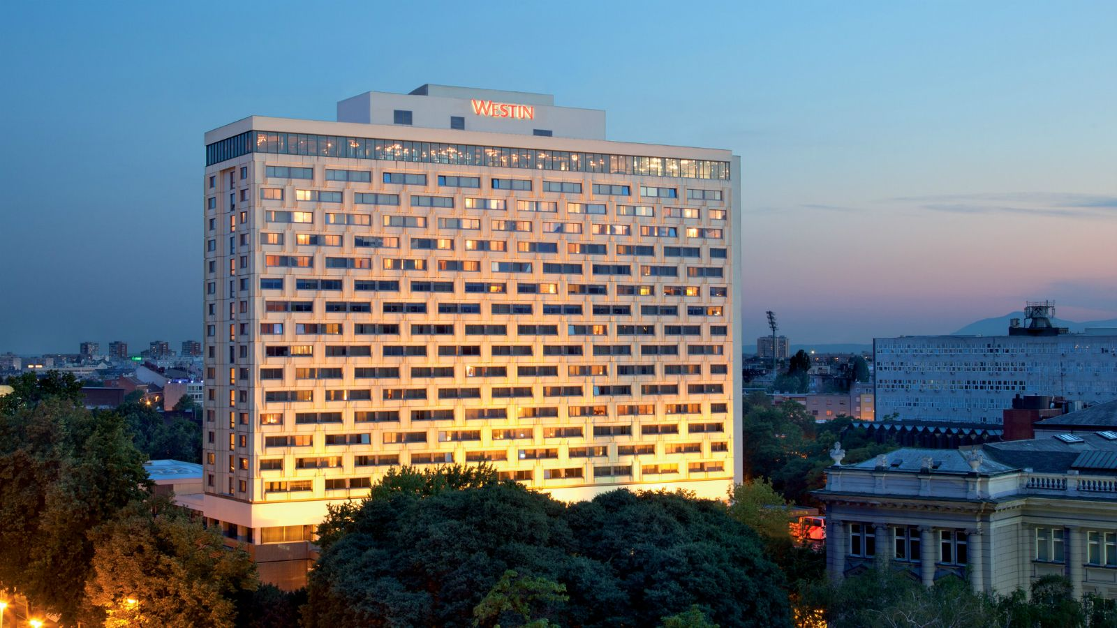 The Westin Zagreb location