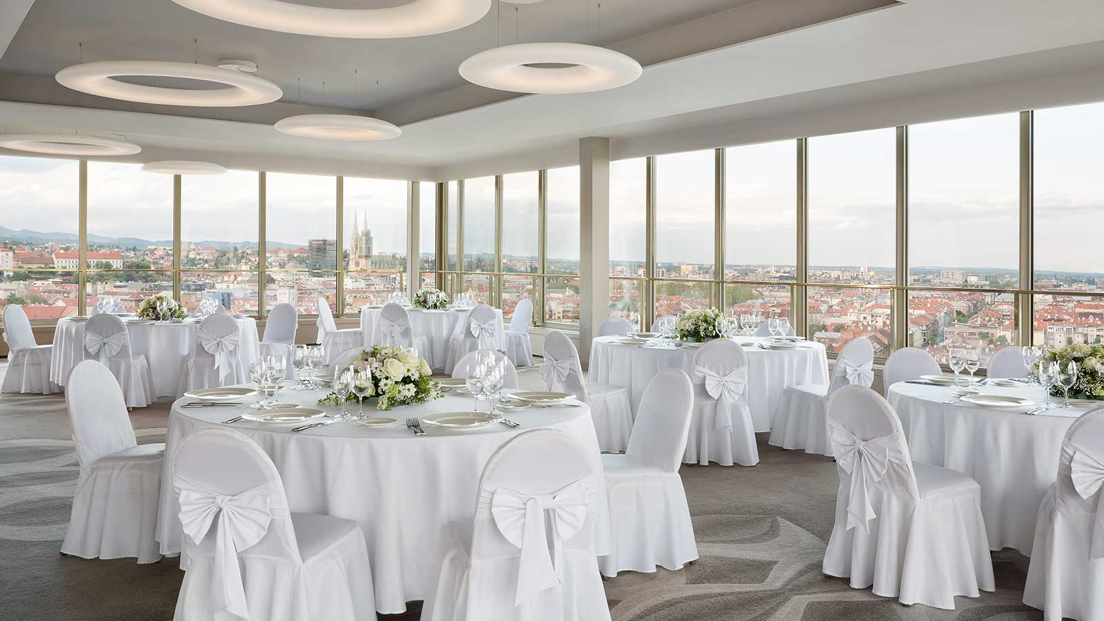 Panoramic wedding in Zagreb | The Westin Zagreb